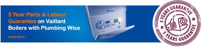 Vaillant Boiler 5 Year Guarantee