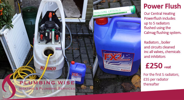 Power Flushing Central Heating Systems in Enfield, Hadley Wood ...
