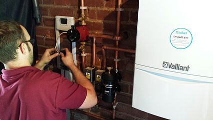 Vaillant boiler servicing and maintenance
