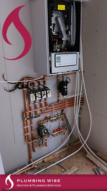 Boiler Installation with Megaflo Cylinder and underfloor heating